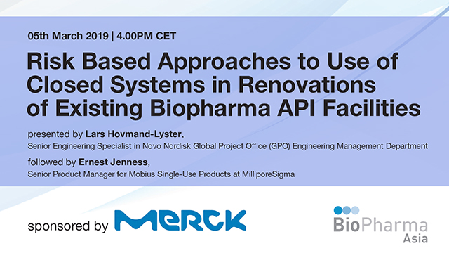 Risk Based Approaches To Use Of Closed Systems In Renovations Of Existing Biopha