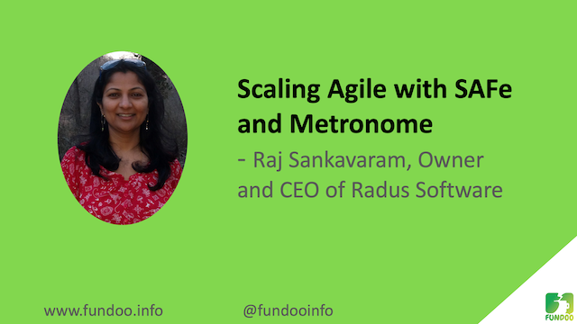 Scaling Agile with SAFe and Metronome