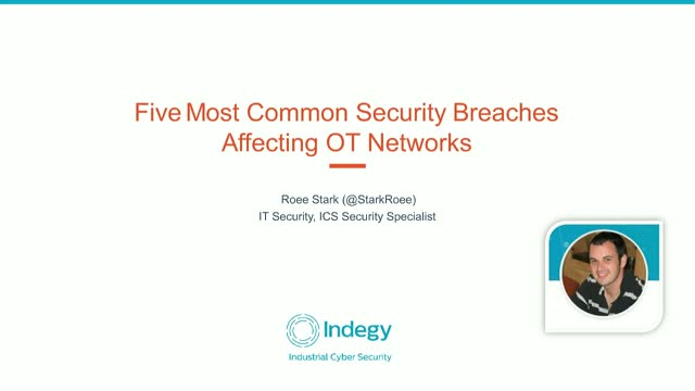 The Five Most Common OT Security Breaches