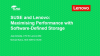 SUSE and Lenovo: Maximising Performance with Software-Defined Storage