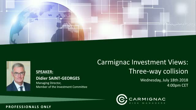 Carmignac's Investment Views: Three-way collision