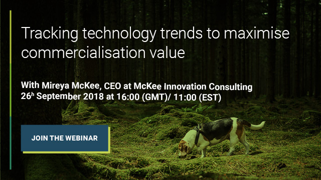 Tracking technology trends to maximise commercialisation value