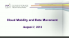 Cloud Mobility and Data Movement