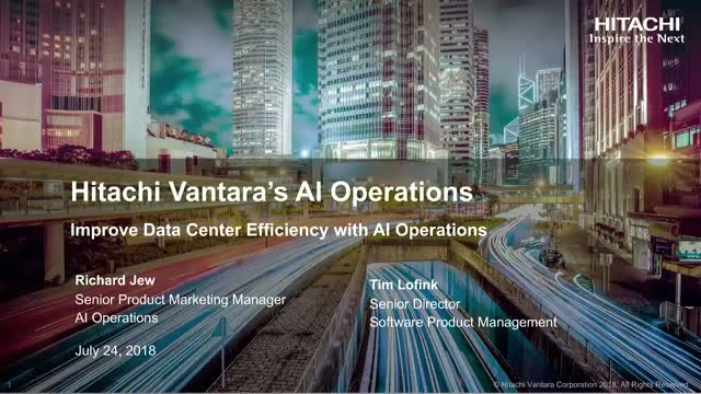 Improve Data Center Efficiency With AI Operations