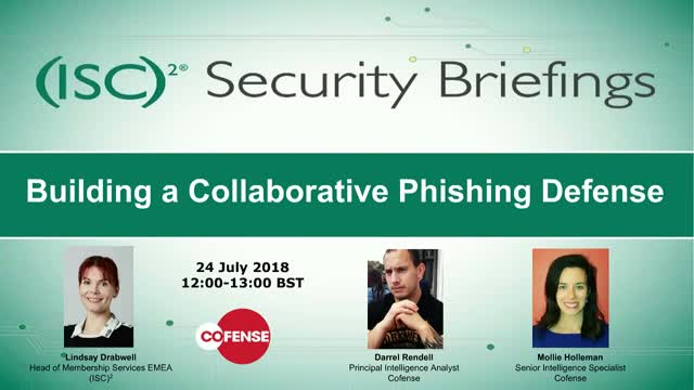 Building a Collaborative Phishing Defense