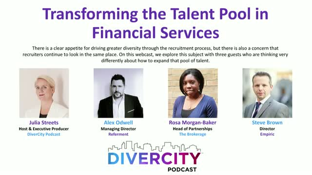 Transforming the Talent Pool in Financial Services
