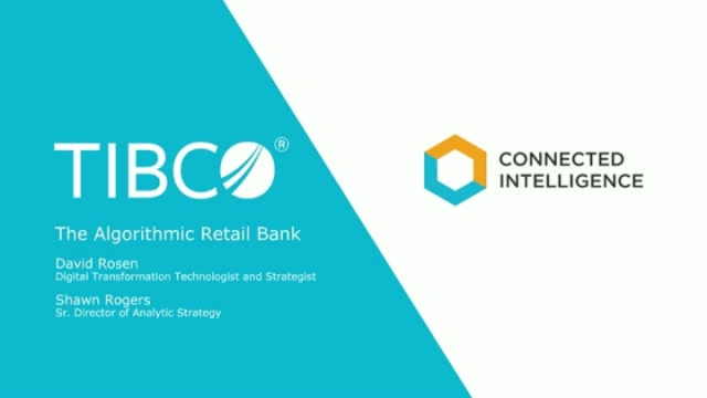 The Algorithmic Series- Part 1: The Algorithmic Retail Bank - How to be a leader