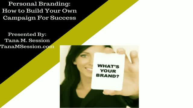 Personal Branding: How to Build Your Own Campaign For Success