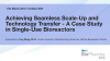 Achieving Seamless Scale-Up and Technology Transfer – A Case Study in Single-Use