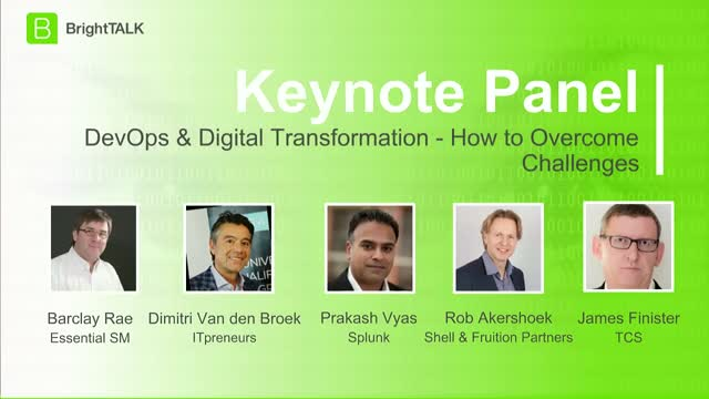 Panel: DevOps & Digital Transformation - How to Overcome Challenges