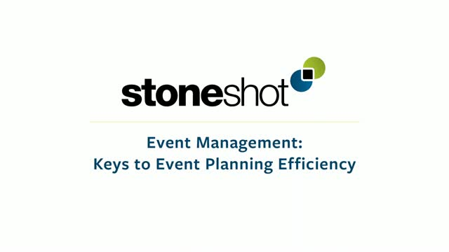 [On-Demand Webinar] Event Management - Keys to Event Planning Efficiency