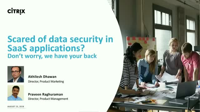 Scared of data security in SaaS applications? Don't worry, we have your back
