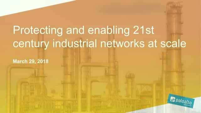 Protecting and enabling 21st century industrial networks at scale