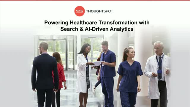 Powering Healthcare Transformation with Search & AI-Driven Analytics