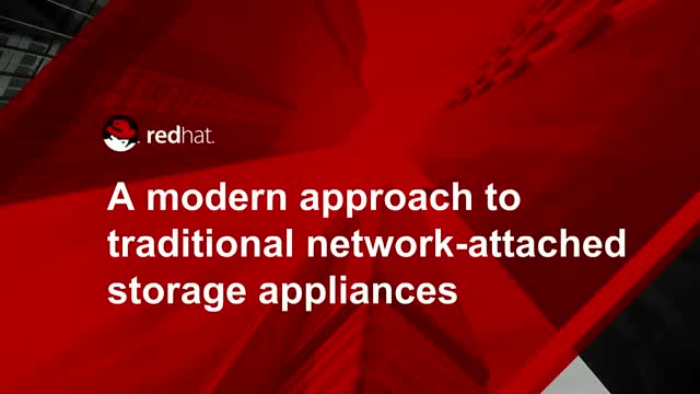 A modern approach to traditional network-attached storage appliances