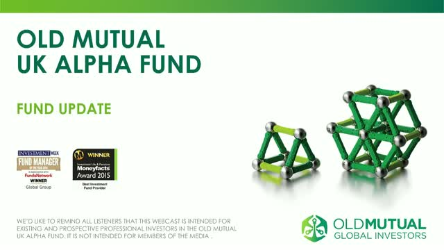 Old Mutual UK Alpha Fund update with Richard Buxton - July 2018