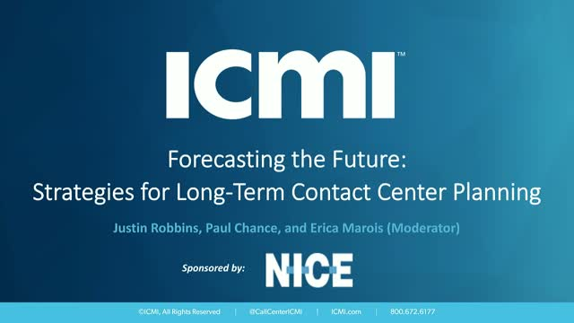 Forecasting the Future: Strategies for Long-Term Contact Center Planning