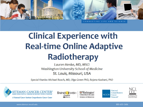 MR Image Guidance & On-Table Adaptive Radiotherapy in Routine Clinical Practice