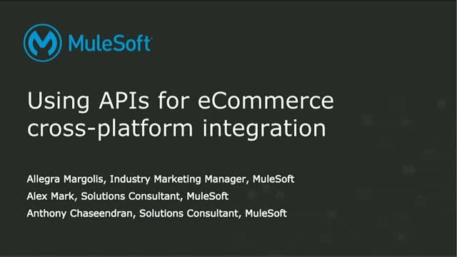 Using APIs for eCommerce Cross-Platform Integration