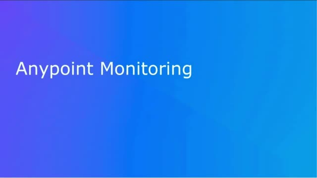 Gain Deep Visibility into APIs and Integrations with Anypoint Monitoring