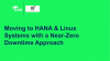 Moving to HANA & Linux Systems with a Near-Zero Downtime Approach
