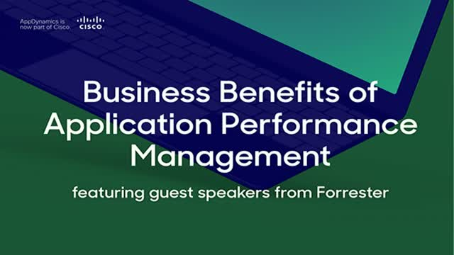 Presenting the business benefits of an Application Performance Management tool