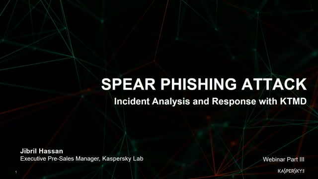 TECH TALK: Spear Phishing Attack | Incident Analysis and Response with KTMD