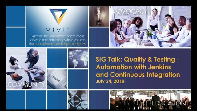 Q & T SIG Talk Series - Jenkins & Continuous Integration [Complete Edition]