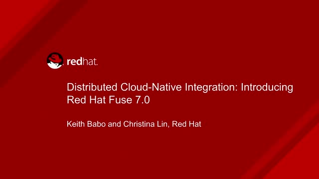 Distributed Cloud-Native Integration: Introducing Red Hat Fuse 7.0