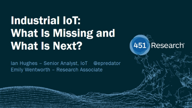 Industrial IoT: What is Missing and What is Next?