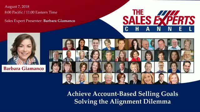 Achieve Account-Based Selling Goals Solving the Alignment Dilemma