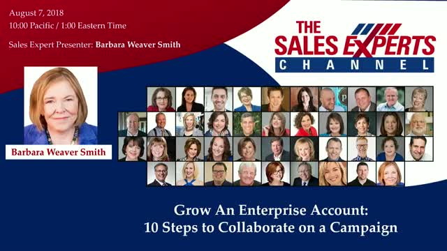 Grow An Enterprise Account: 10 Steps to Collaborate on a Campaign