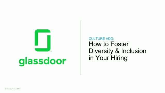 How to Foster Diversity & Inclusion in Your Hiring