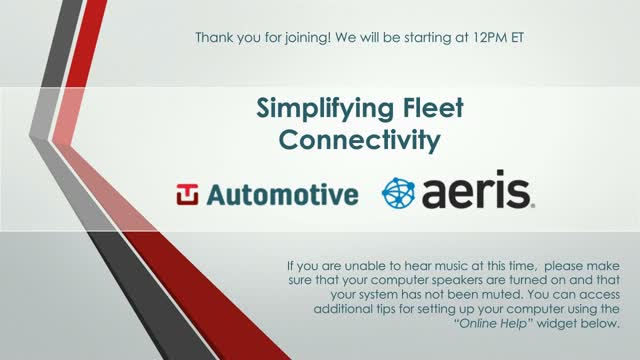 Tu Automotive: Simplifying Fleet Connectivity