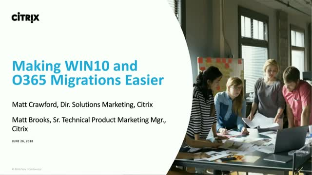 Windows 10 & Office 365 Migration and Optimization Strategies