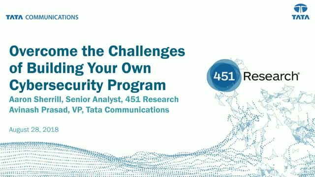 Overcome the Challenges of Building Your Own Cybersecurity Program