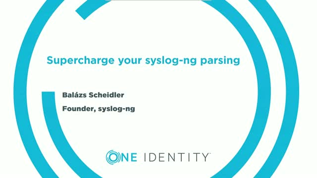 Supercharge your syslog-ng parsing