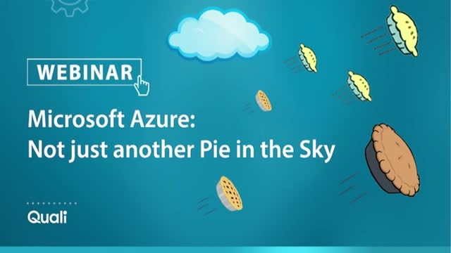 Microsoft Azure -  Not just another Pie in the Sky