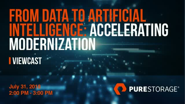 From Data to Artificial Intelligence: Accelerating Modernization