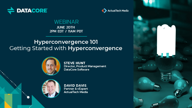 Hyperconvergence 101 - Getting Started with Hyperconvergence