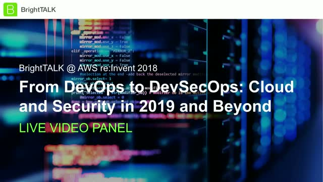 From DevOps to DevSecOps: Cloud and Security in 2019 and Beyond