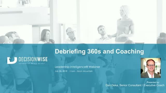 360-degree Feedback Coaching Best Practices