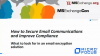 How to Secure Email Communications and Improve Compliance