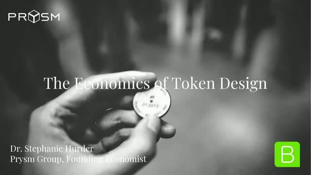 The Economics of Token Design