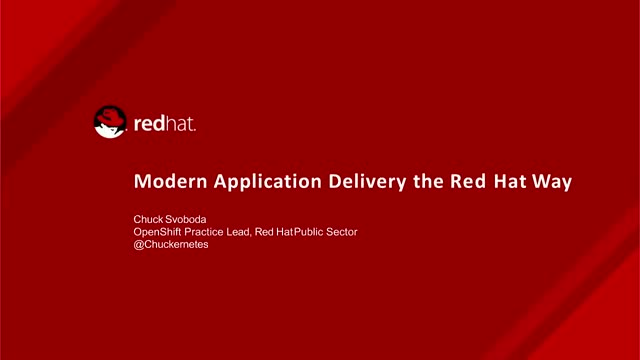 Modern Application Delivery the Right Way