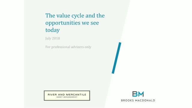The Value Cycle and the Opportunities we see today