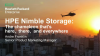 HPE Nimble Storage: The chameleon that's here, there, and everywhere