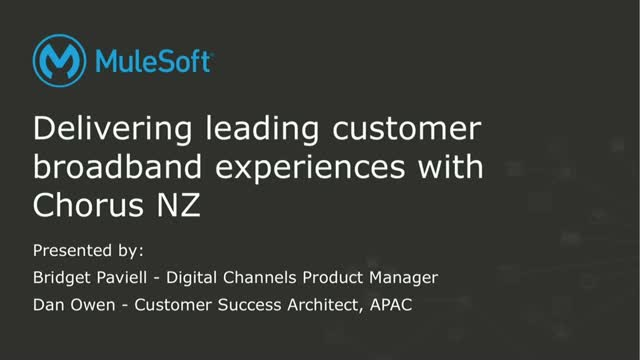 Delivering Leading Customer Broadband Experiences with Chorus NZ