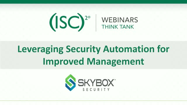 Leveraging Security Automation for Improved Management
