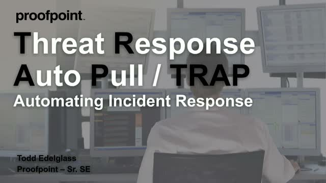 Keeping Up With Automation - Threat Response Live Demo